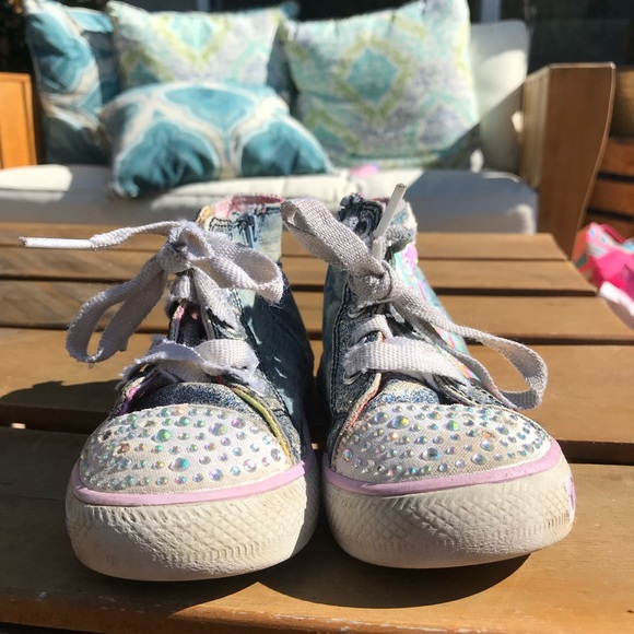 Skechers Shoes | Twinkle Toes High Top